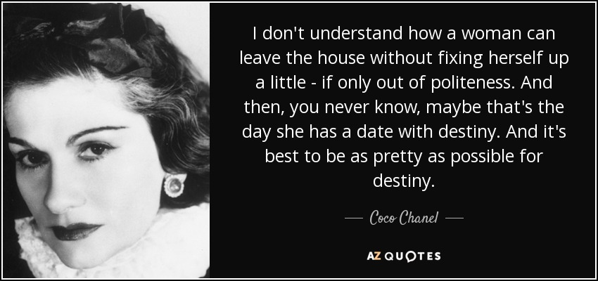 Coco Chanel dating