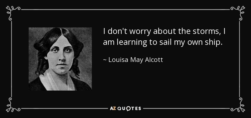 Image result for louisa may alcott storms