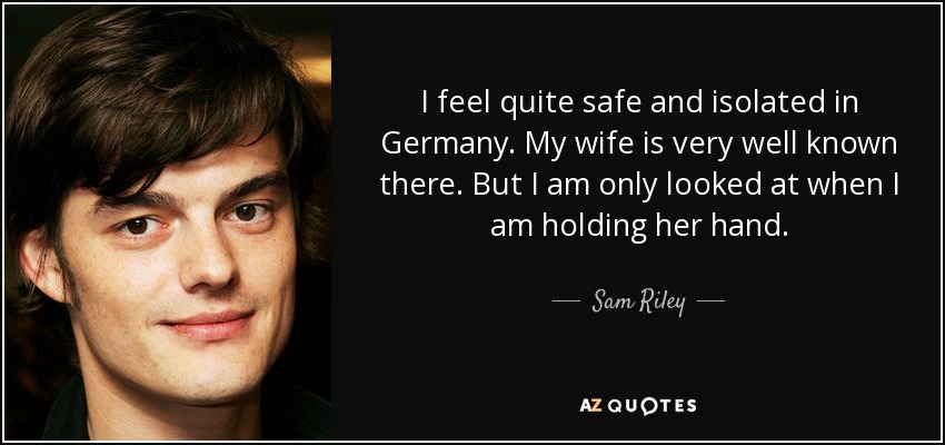 sam riley 2017