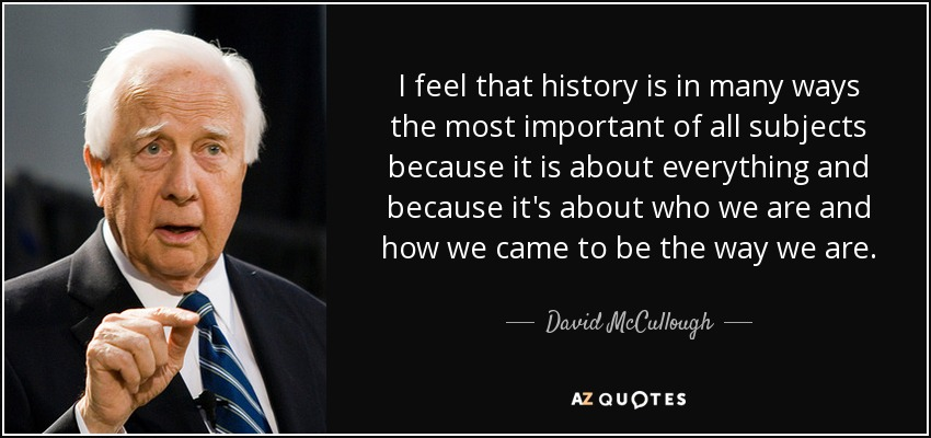 what is the main thesis of 1776 by david mccullough