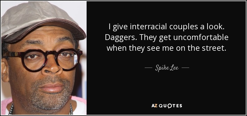 Spike Lee On Interracial Relationships