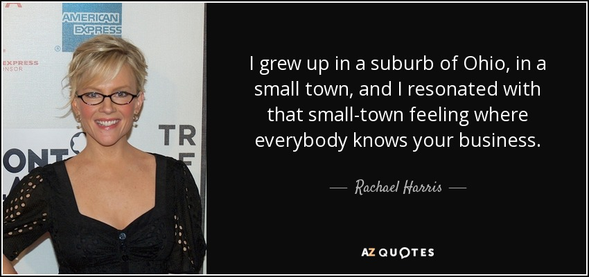 growing up in a small town