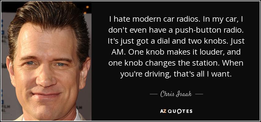 Modern Car Radios
