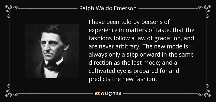 ralph waldo emerson quote i have been told by persons of