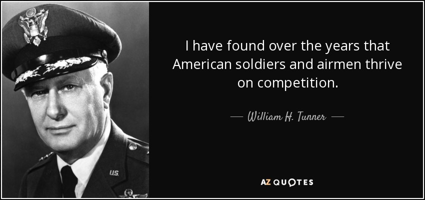 William H. Tunner Quote: I Have Found Over The Years That