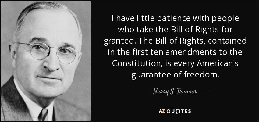 Harry S Truman Quote I Have Little Patience With People Who Take