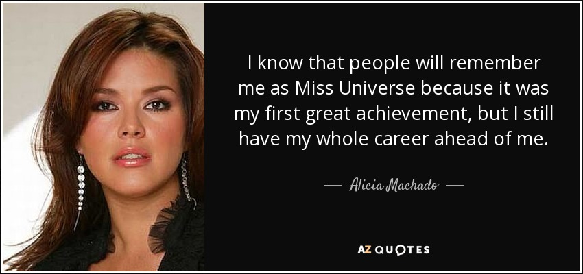 miss universe quotes