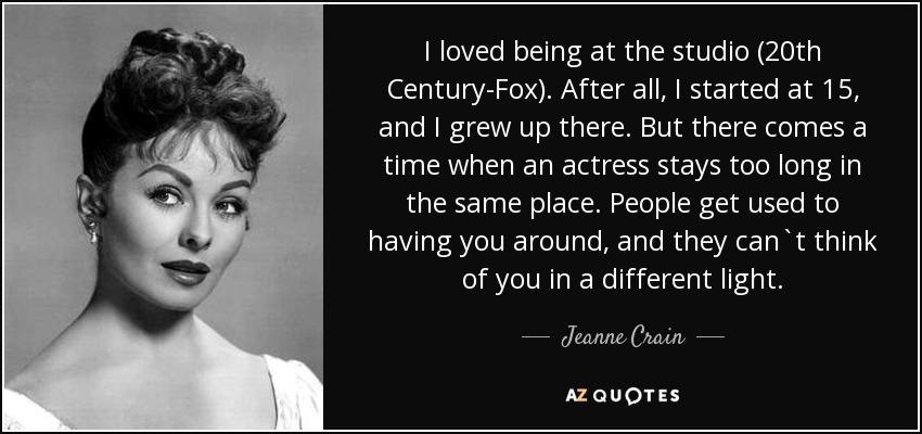 jeanne crain biography