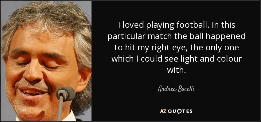 Andrea bocelli eyes