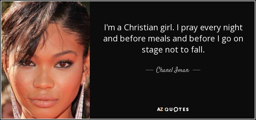 a christian girl