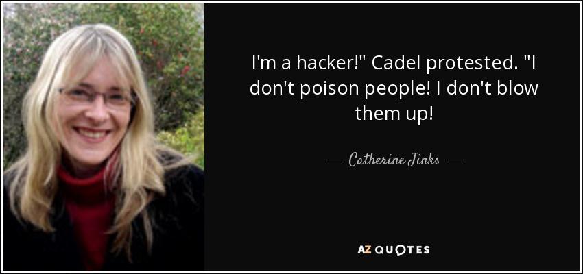 I'm a hacker!