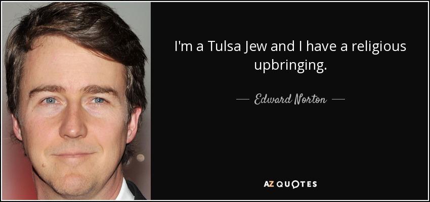 is edward norton jewish