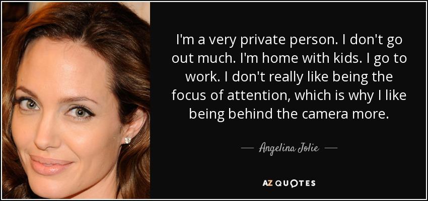very private person
