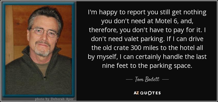 Image result for tom bodett images