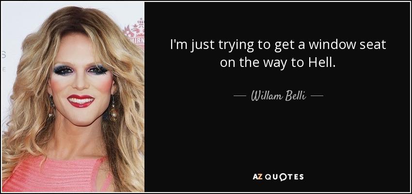 willam belli runway