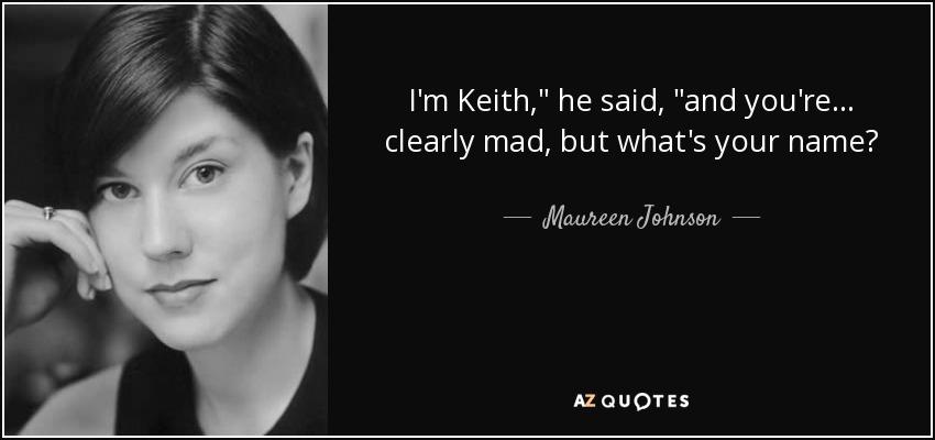 I'm Keith,