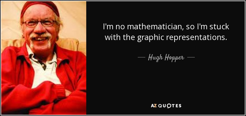 I'm no mathematician, so I'm stuck with the graphic representations. - Hugh Hopper