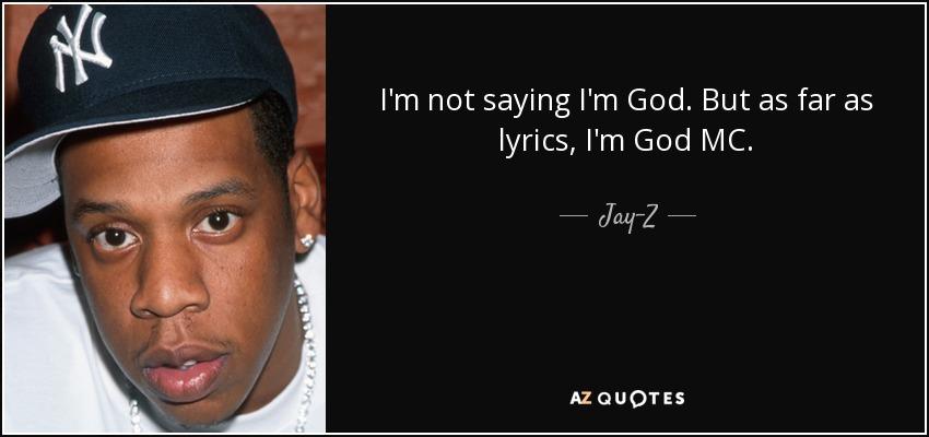 Im Not Saying Im But As Far As Lyrics