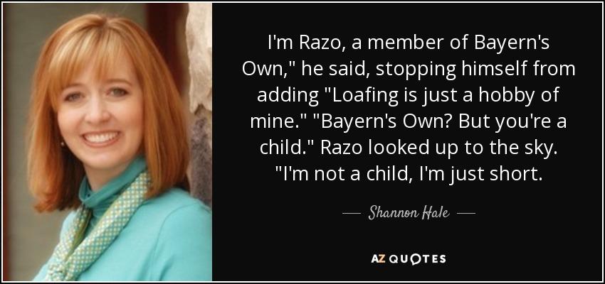 I'm Razo, a member of Bayern's Own,