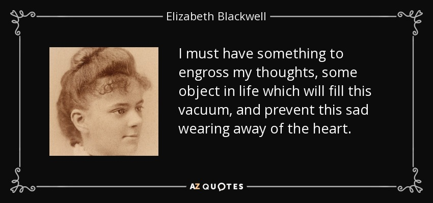 elizabeth blackwell changes the world View elizabeth blackwell's profile on linkedin, the world's largest professional community elizabeth has 23 jobs listed on their profile see the complete profile on linkedin and discover elizabeth's connections and jobs at similar companies.