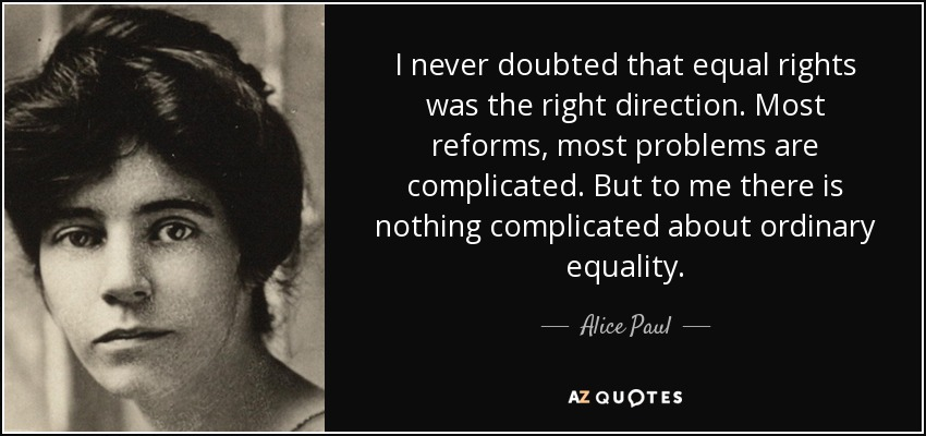 alice paul v carrie chapman catt essay Carrie chapman catt (january 9, 1859 – march 9, 1947) was an american  women's suffrage  show v t e inductees to the national women's hall of  fame.