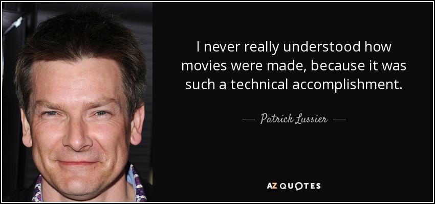 patrick lussier linkedin