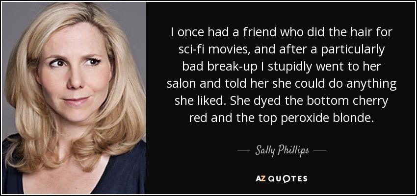 sally phillips mean machine