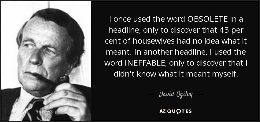 David Ogilvy Quotes Stunning Top 25 Quotesdavid Ogilvy Of 221  Az Quotes