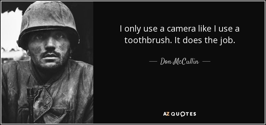 TOP 18 QUOTES BY DON MCCULLIN