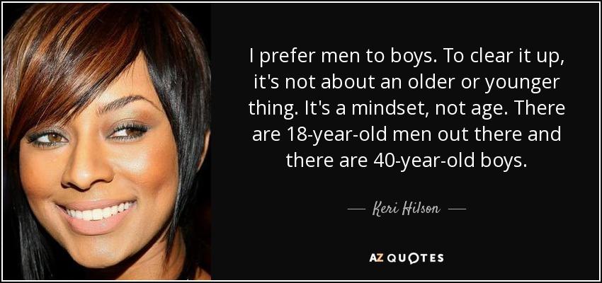 Boys Who Like Older Men