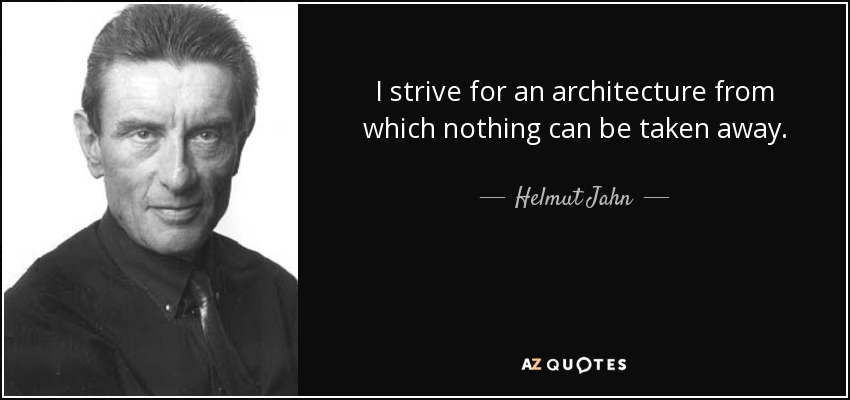 TOP 25 QUOTES BY HELMUT JAHN   A-Z Quotes