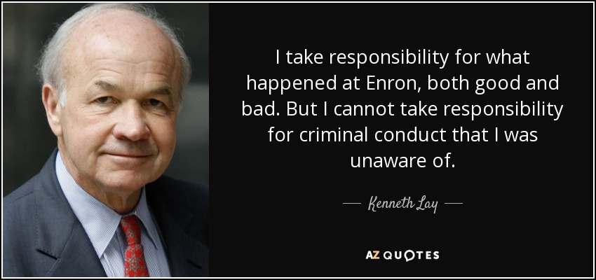 enron what happened Enron corp founder kenneth lay, who was convicted of helping perpetuate one of the most sprawling business frauds in us history.