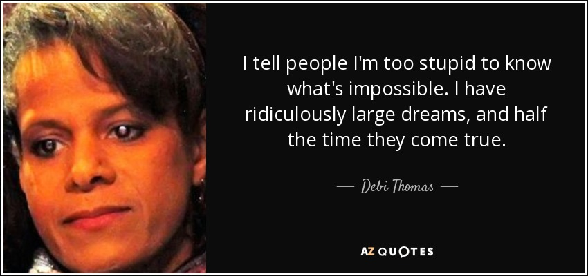 Debi Thomas Quotes