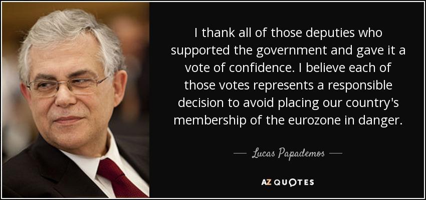 Vote of confidence quotes