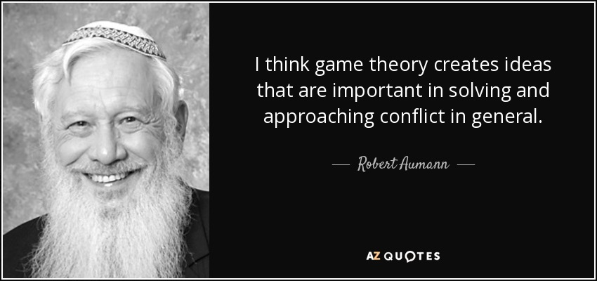The importance of game theory