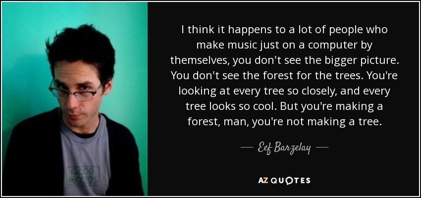 Eef Barzelay Quote I Think It Happens To A Lot Of People Who