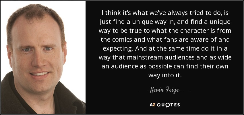 "We have ""No ill will""; Feige is just ""stretched incredibly thin"" but we are ""grateful"" for all he has taught us"