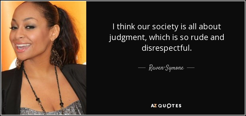 Judgement Today – The Cancer of Our Society