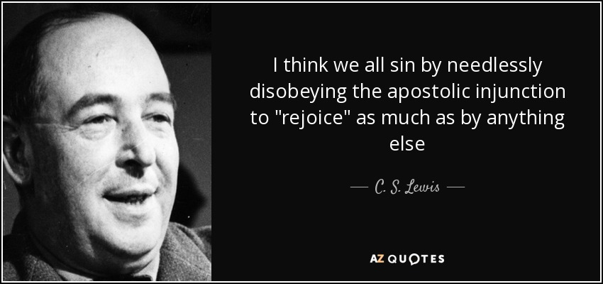 I think we all sin by needlessly disobeying the apostolic injunction to