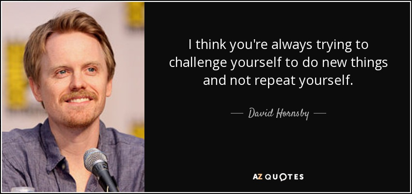 QUOTES BY DAVID HORNSBY