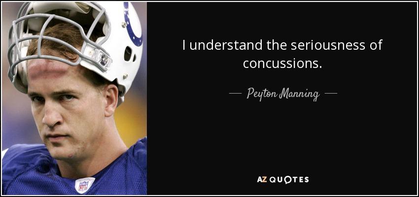 CONCUSSIONS QUOTES [PAGE 60] AZ Quotes Mesmerizing Concussion Quotes