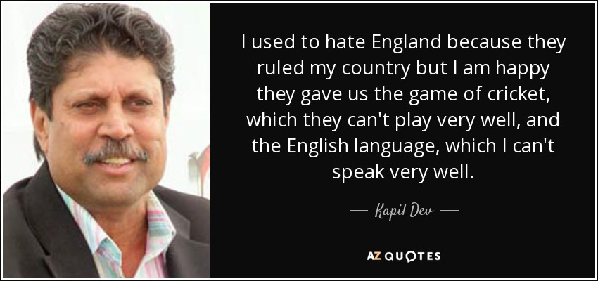 my favourite sportsman kapil dev Veteran cricketer kapil dev was reduced to tears during zee tv's popular music contest hero honda sa re ga ma pa challenge with hot favourite contestant vineet's rendition of the patriotic sandese aate hain from jp dutta's bordersays vineet: when kapil devji cried, i knew i had sung well  | 171317 | sa re ga ma pa singing superstar forum.