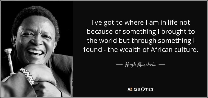 Hugh Masekela African Sounds For Mandela