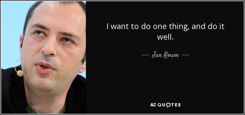TOP 10 QUOTES BY JAN KOUM