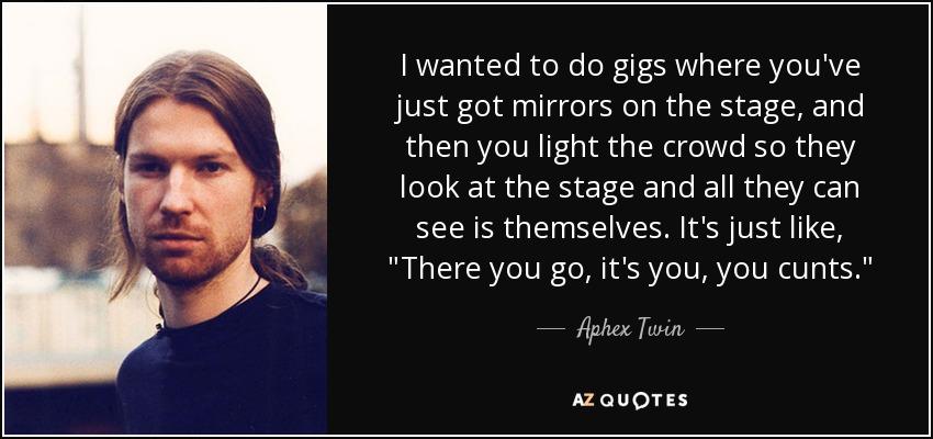 WARP   Artists   Aphex Twin