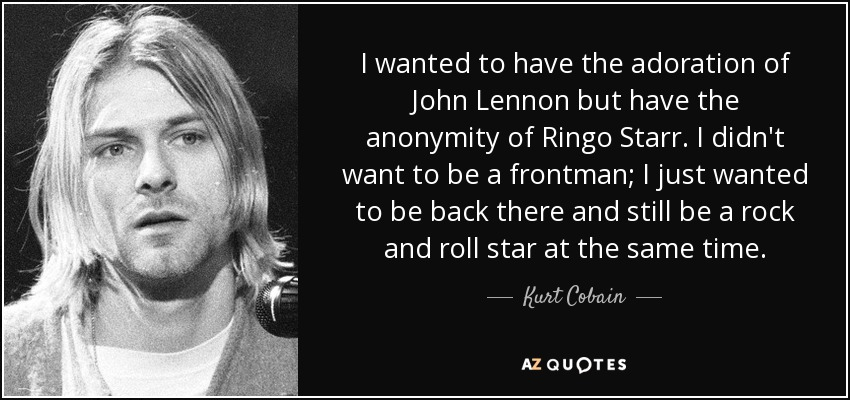I Wanted To Have The Adoration Of John Lennon But Anonymity Ringo Starr