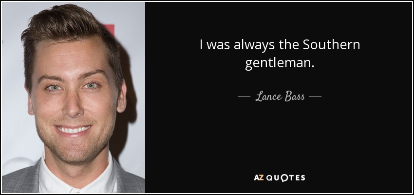 southern gentleman quotes