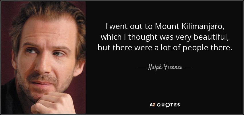 the snows of kilimanjaro quotes
