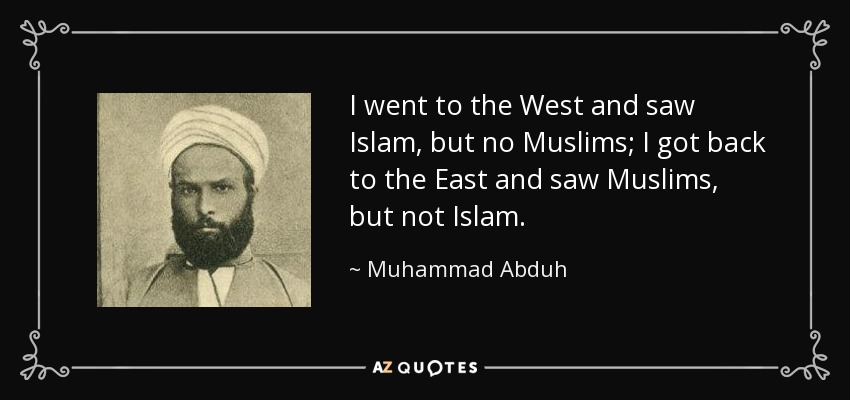QUOTES BY MUHAMMAD ABDUH | A-Z Quotes