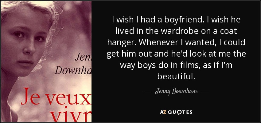 TOP 25 QUOTES BY JENNY DOWNHAM (of 90) | A-Z Quotes